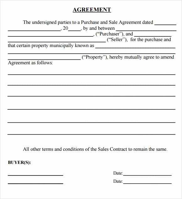 Land Purchase Agreement form Pdf Unique Sample Purchase Agreement 10 Examples format