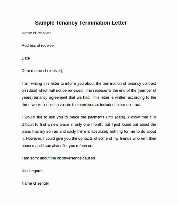 Landlord Notice to Vacate Elegant 11 Sample Notice to Vacate Letters Pdf Ms Word Apple