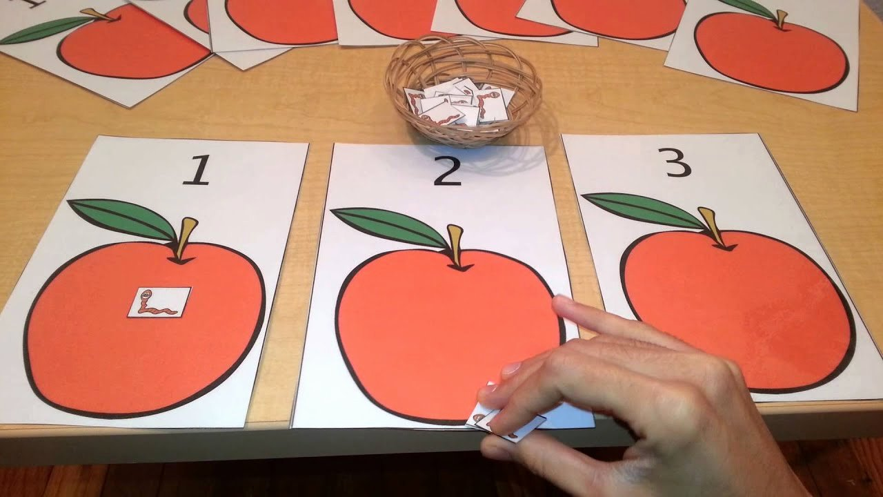 Lesson Plans for toddlers Awesome Math Number Quantity Activity toddlers Preschool