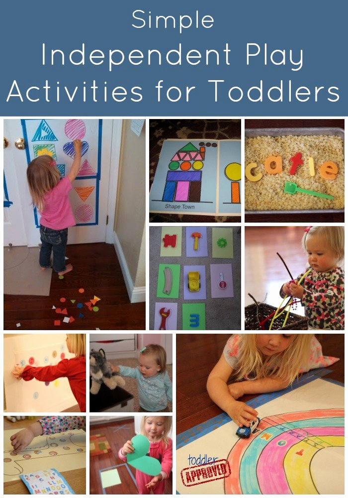 Lesson Plans for toddlers Awesome toddler Approved Simple Independent Play Activities for