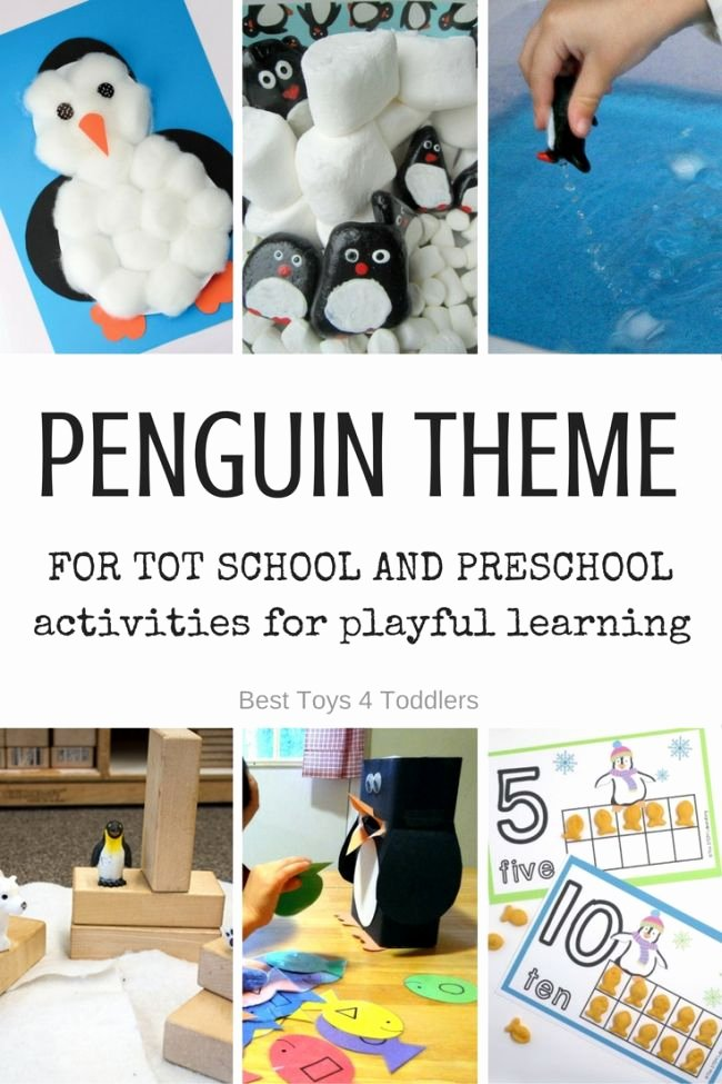 Lesson Plans for toddlers Best Of Letter P Penguin theme for tot School and Preschool