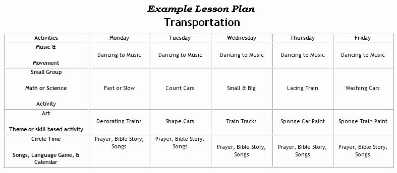 Lesson Plans for toddlers Elegant First United Methodist Church