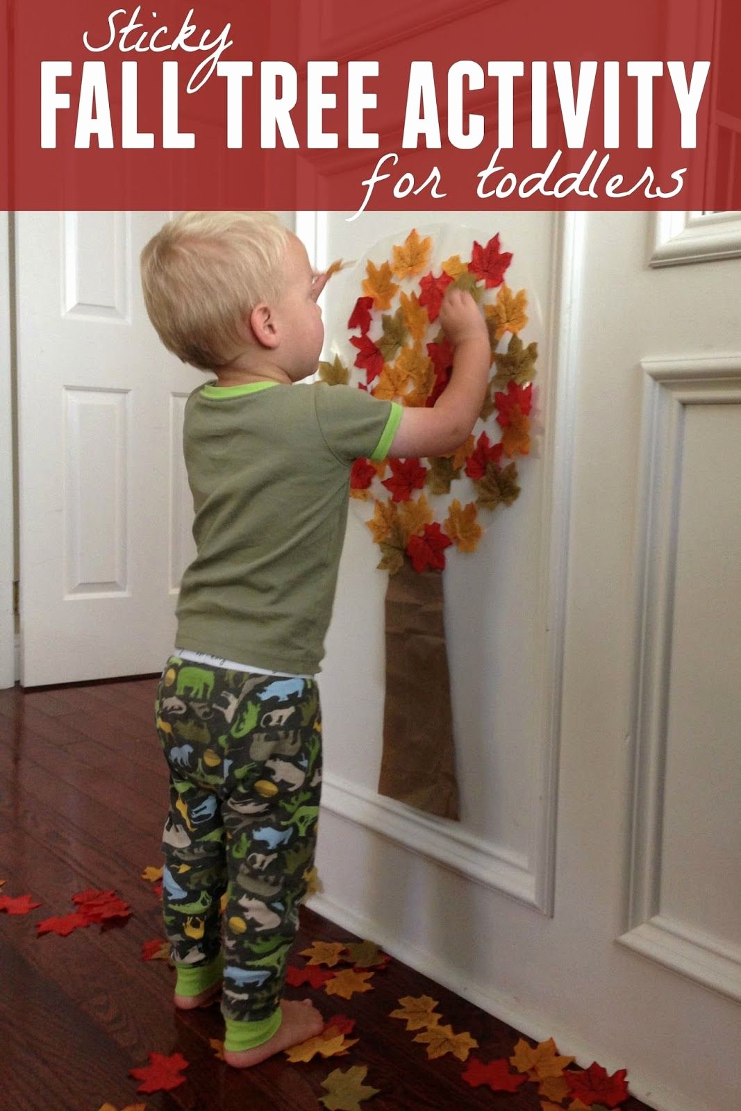 Lesson Plans for toddlers New Easy Fall Tree Activity for toddlers