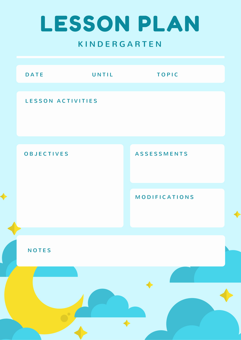 Lesson Plans for toddlers Unique Free Line toddler Lesson Plan Maker Design A Custom