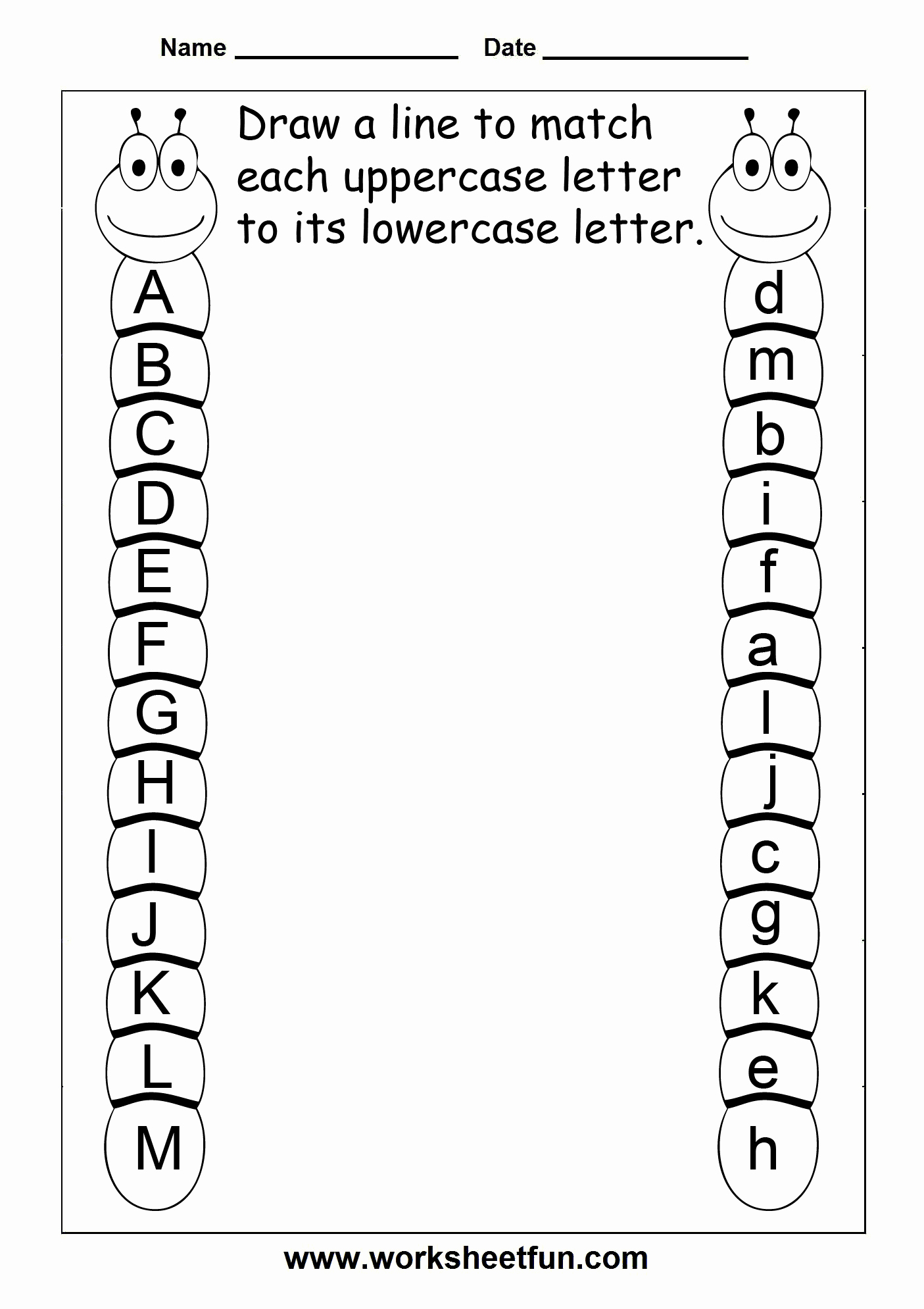 Letter A Printable Beautiful Letter Worksheets On Pinterest