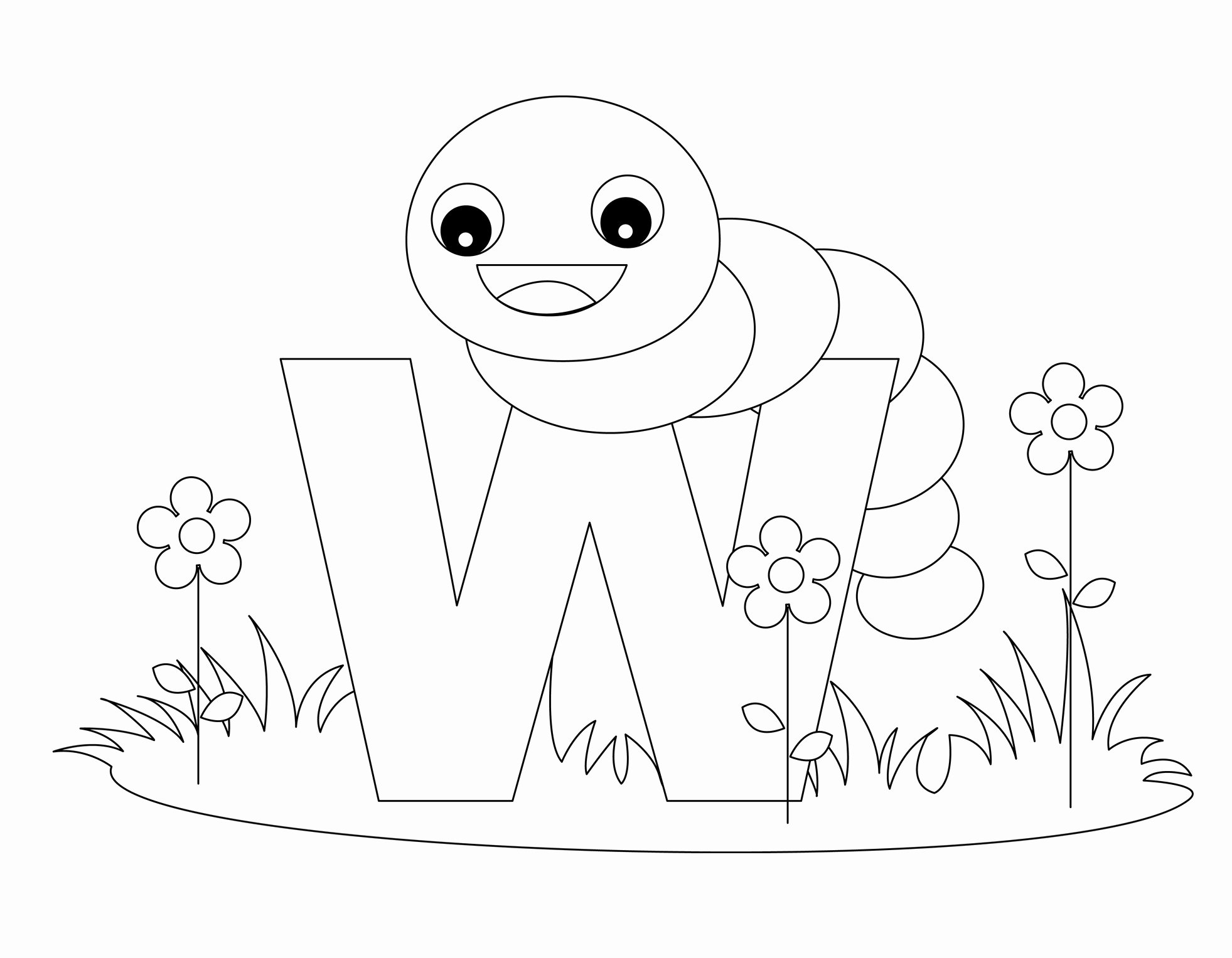 Letter A Printable Fresh Free Printable Alphabet Coloring Pages for Kids Best
