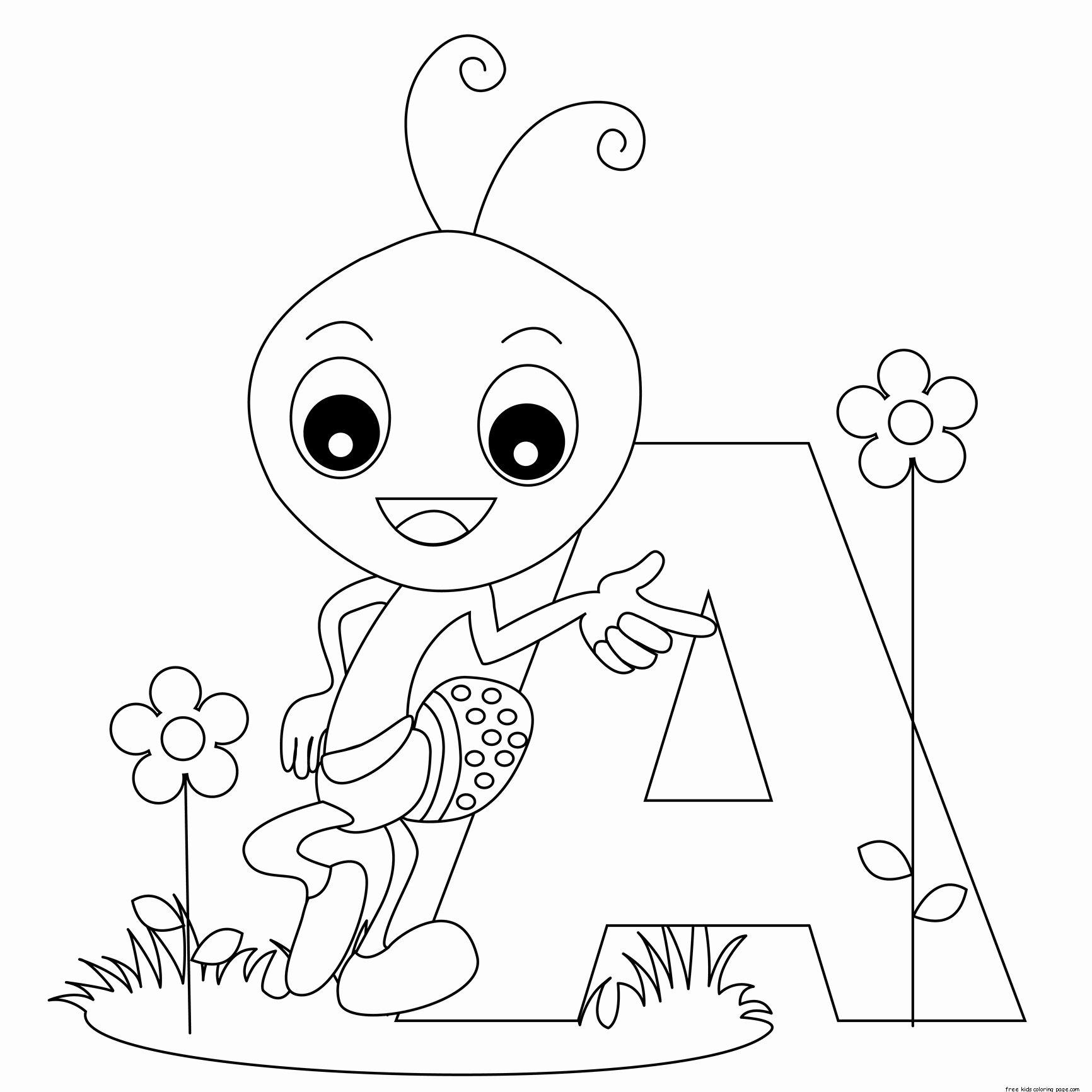 Letter A Printable Inspirational Free Alphabet Letter formation Worksheets for Kidsfree