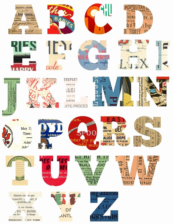 Letter A Printable Inspirational Free Printable Scrapbook Letters Diy Crafts Printables