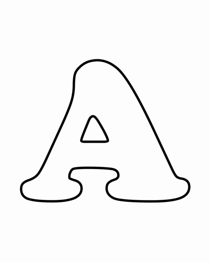 Letter A Printable Lovely Teach Your Kids their Abcs the Easy Way with Free