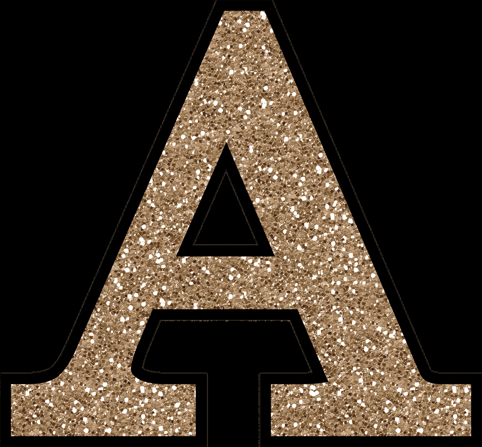Letter A Printable Luxury Free Glitter Alphabet to Download and Print