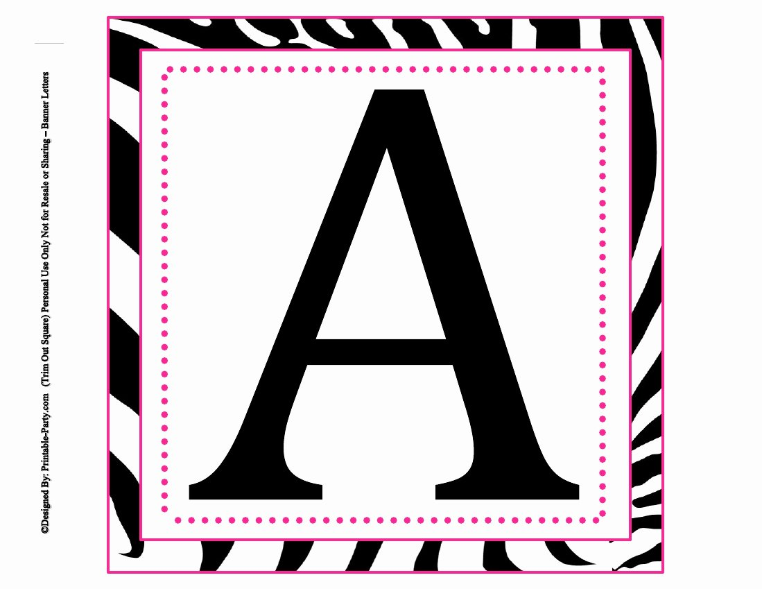 Letter A Printable New 8x8 Inch Square Printable Alphabet Letters