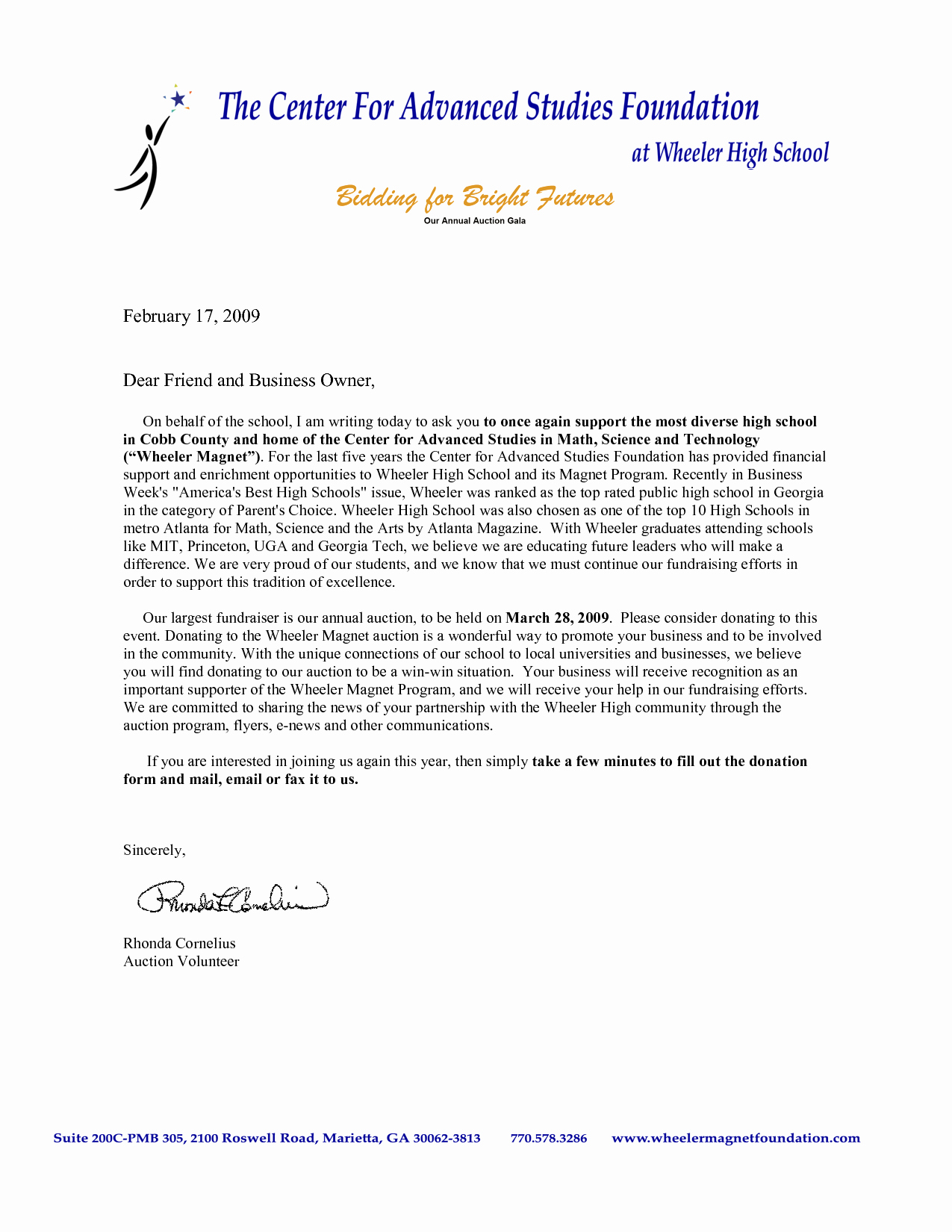 Letter asking for Donations Elegant Sample Donation Request Letter for School