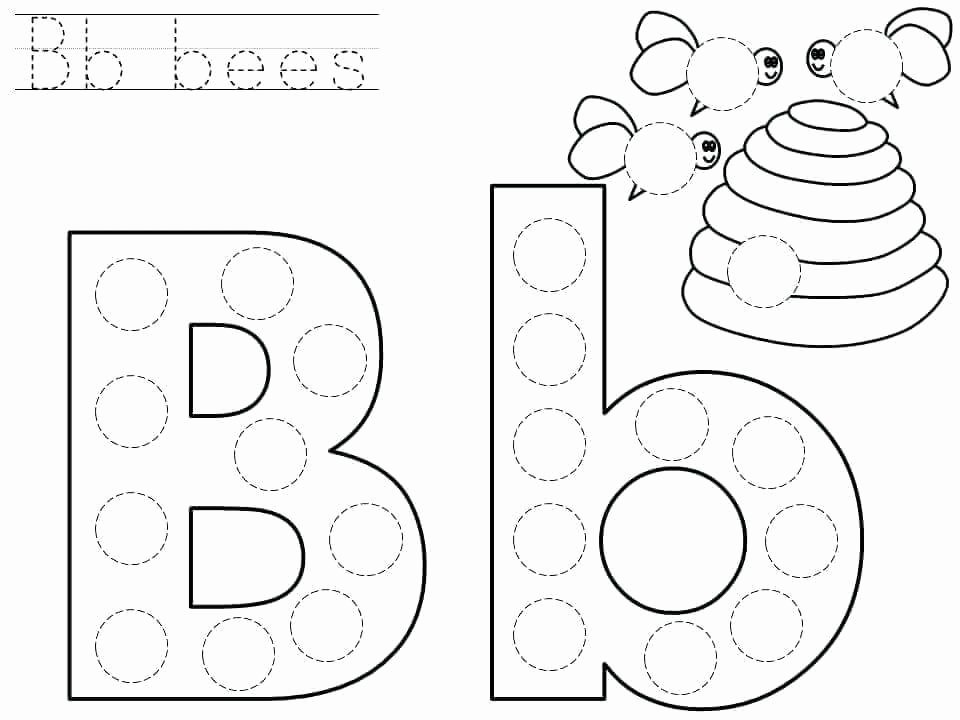 Letter B Printable Awesome Downloadable Letter B Worksheets for Preschool