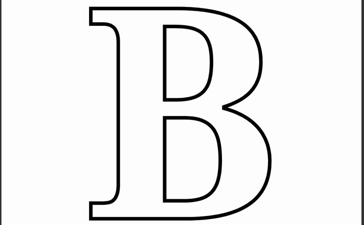 Letter B Printable Best Of Printable Letter B Coloring Page