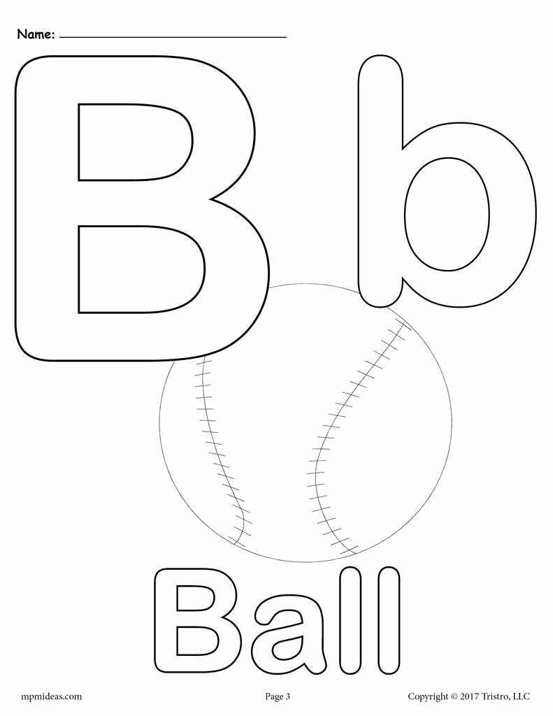 Letter B Printable Elegant Letter B Alphabet Coloring Pages 3 Free Printable