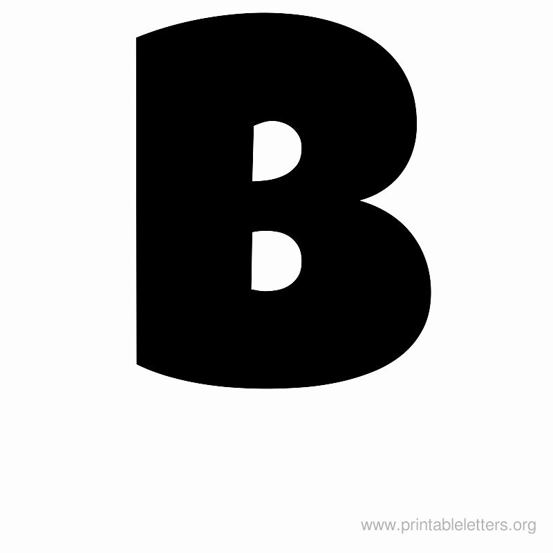 Letter B Printable Inspirational Printable Letters B