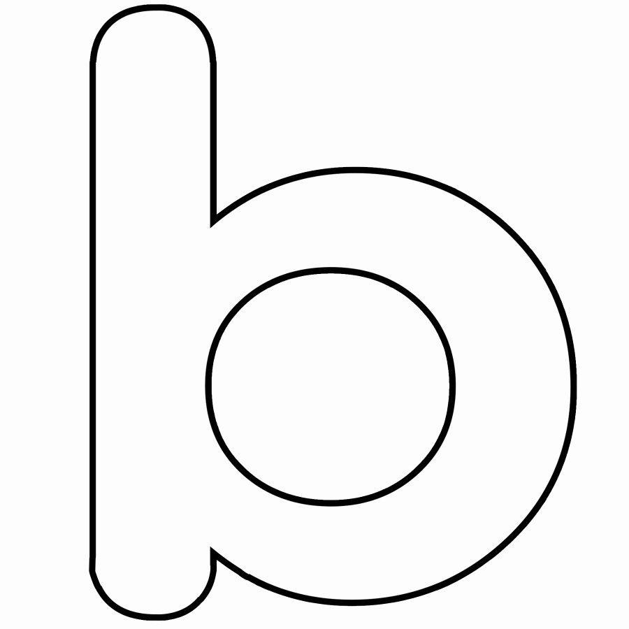 Letter B Printable Lovely Letter B Coloring Pages Preschool and Kindergarten