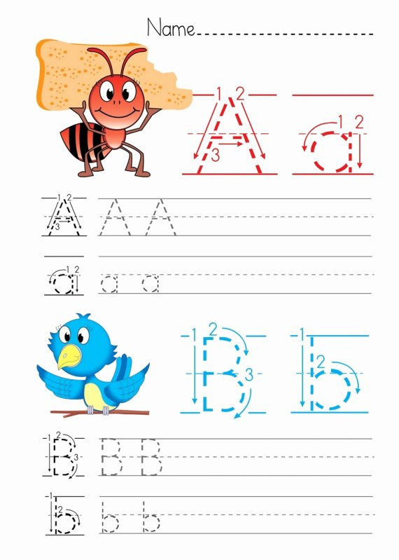 Letter B Printable Lovely Printable Alphabet Worksheets