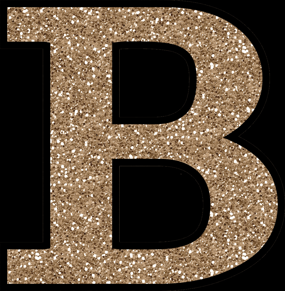 Letter B Printable Luxury Free Glitter Alphabet to Download and Print
