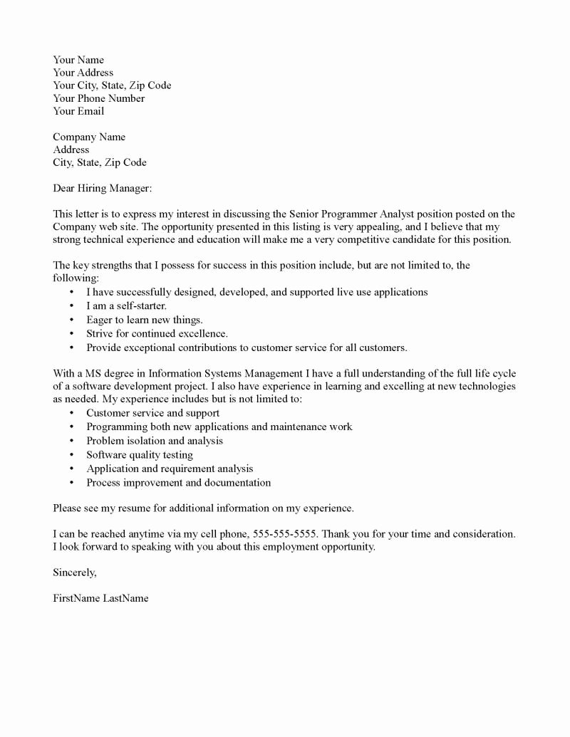 Letter Of Interest Teacher Unique Outstanding Cover Letter Examples