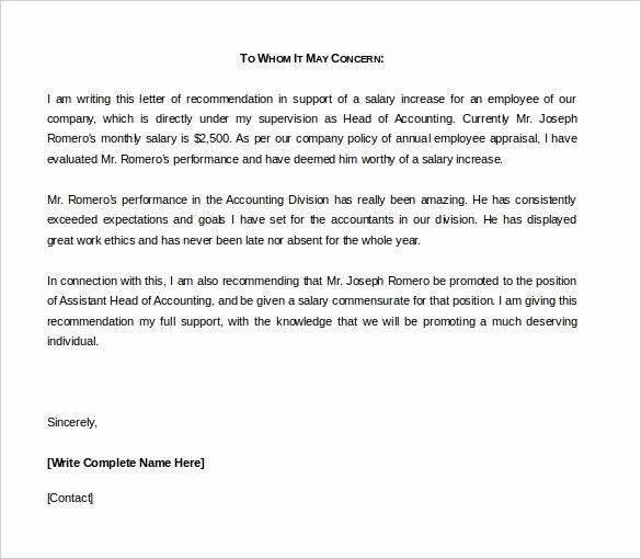 Letter Of Recommendation Templates Word Beautiful 42 Reference Letter Templates Pdf Doc