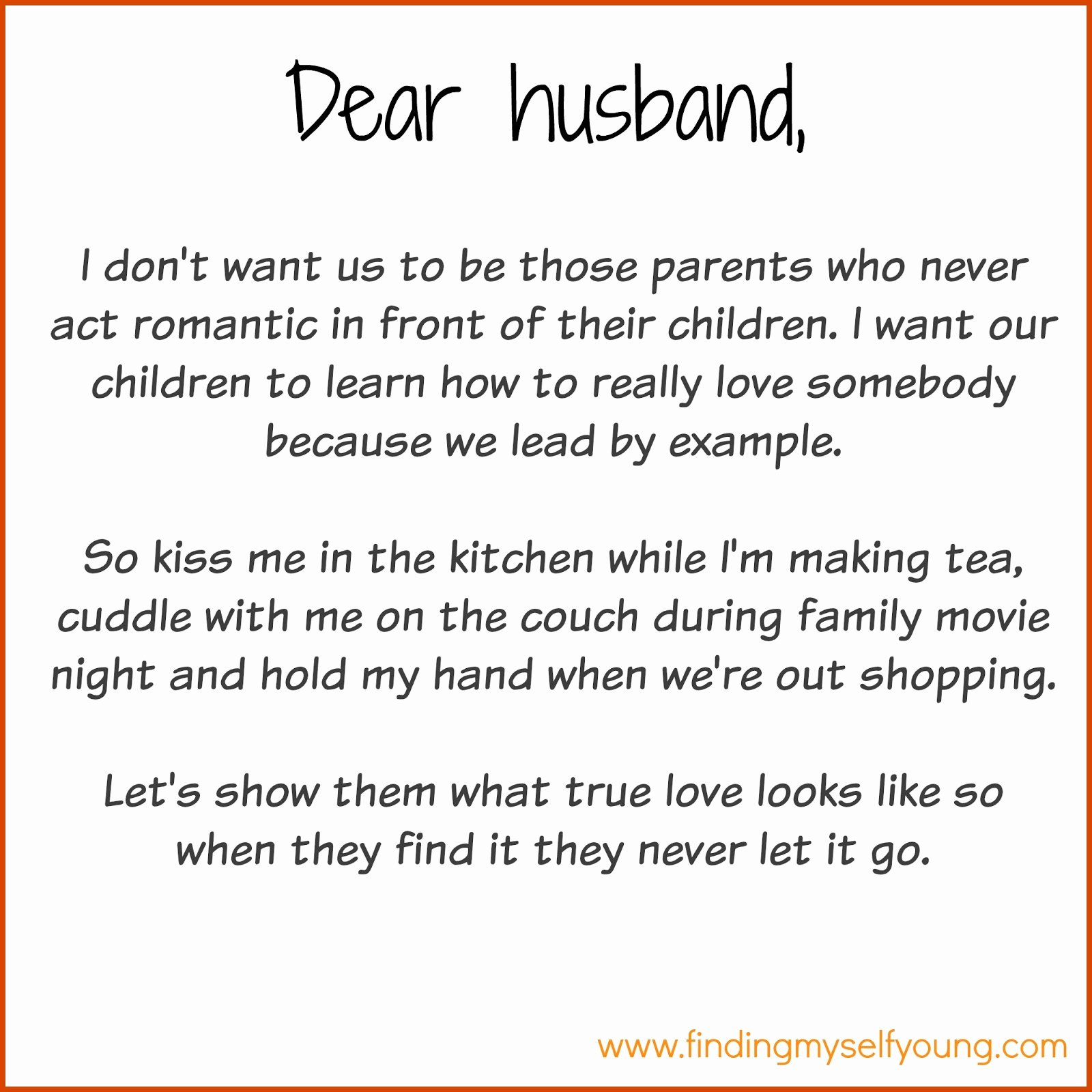 Letter to My Husband Awesome Finding Myself Young December 2015