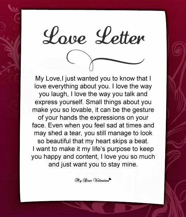 Letter to My Husband Beautiful Love Letters for Her 18