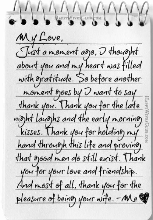 Letter to My Husband Luxury Letter to Husband for Him