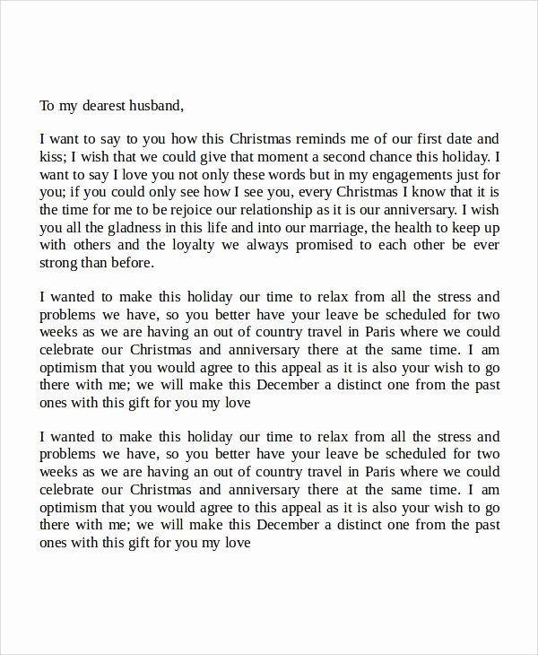 Letter to My Husband Luxury Sample Love Letters to My Husband 7 Examples In Word Pdf
