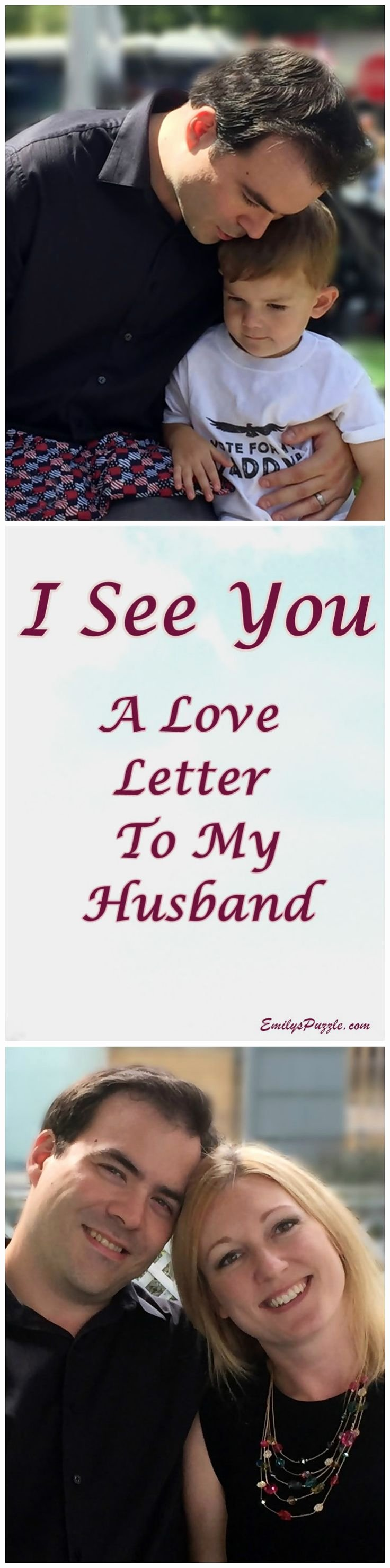 Letter to My Husband New I See You A Love Letter to My Husband