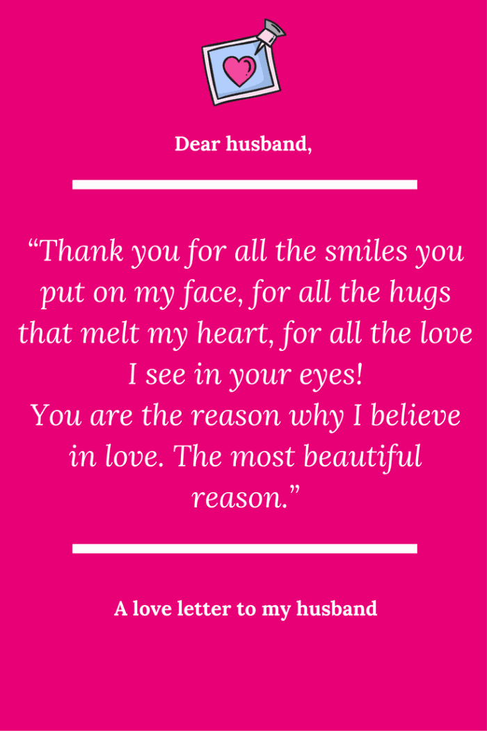 Letter to My Husband Unique A Love Letter to My Husband