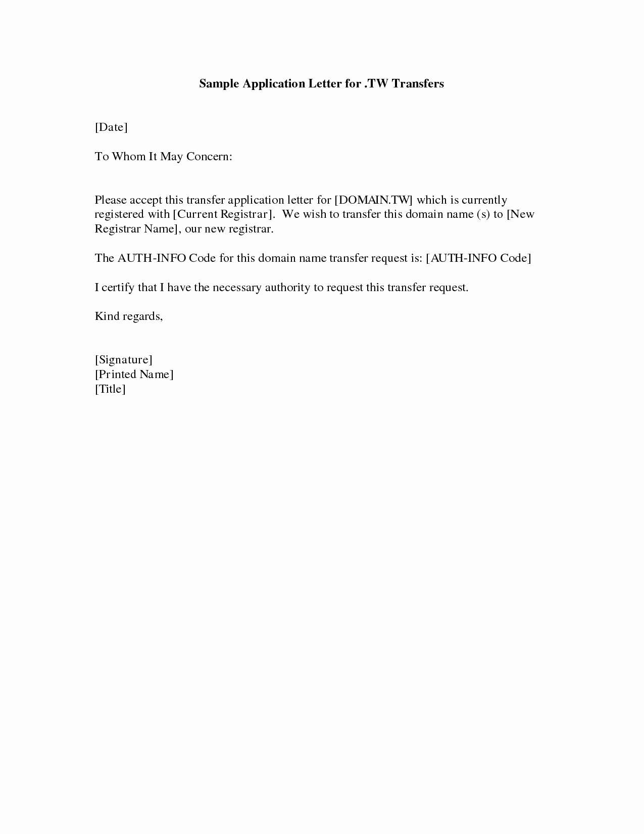 Letters Of Application Examples Beautiful Cover Letter Example Simple Cover Letter Example for Job
