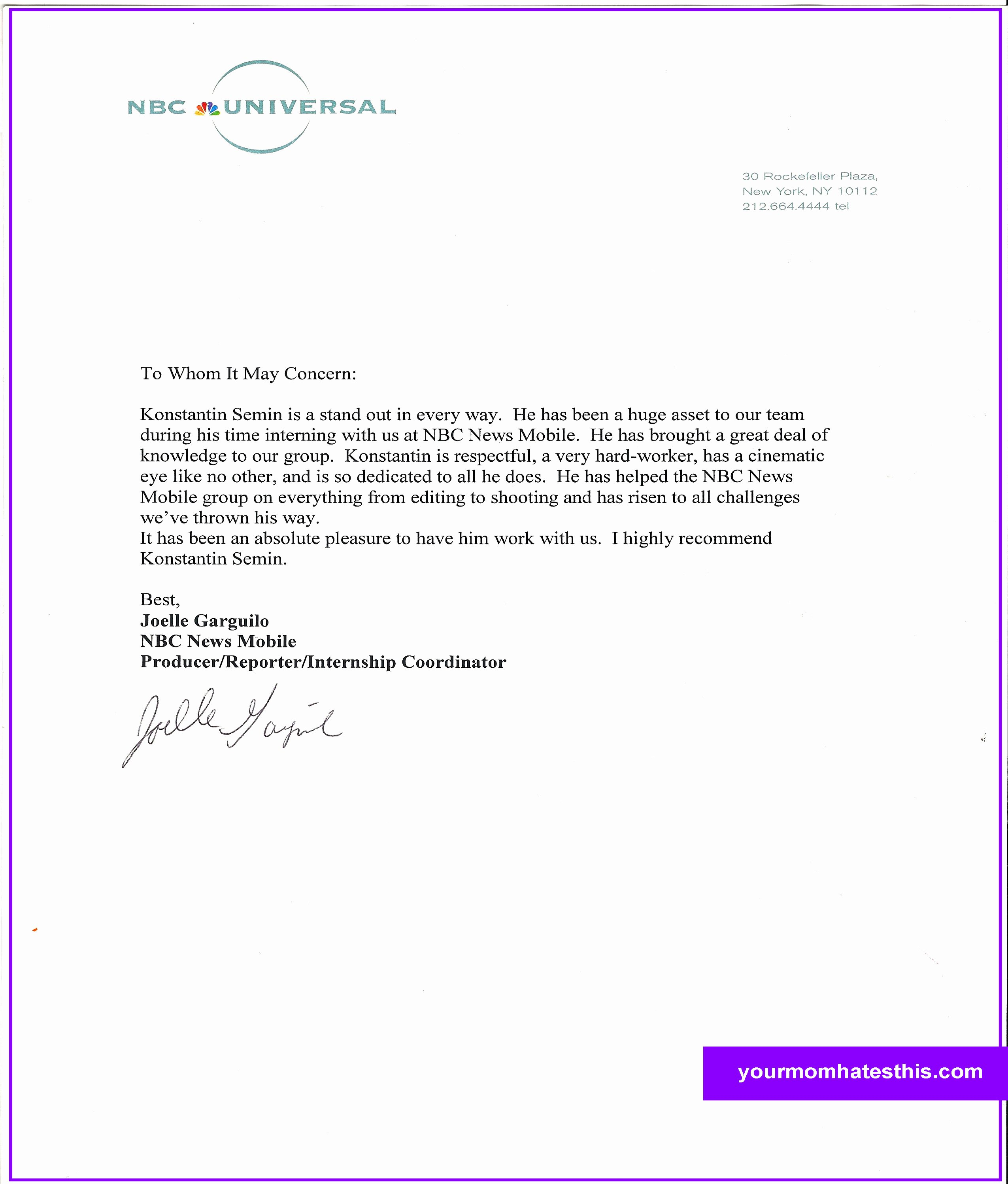 Letters Of Recommendation Template Awesome Download Letter Of Re Mendation Samples