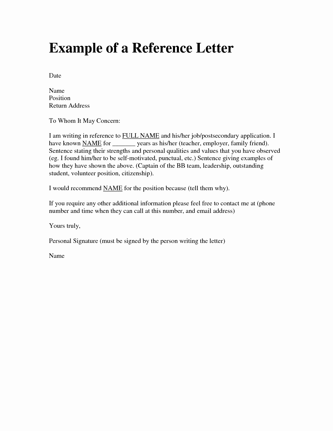 Letters Of Recommendation Template Elegant Letter Re Mendation Template for Friend Letter Art