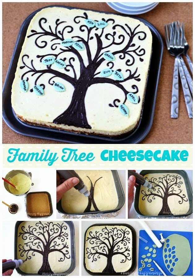 Make Your Own Family Tree Best Of Family Tree Cheesecake Hungry Happenings Recipes