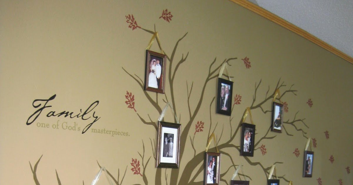 Make Your Own Family Tree Elegant Lessiz Moore Diy Family Tree Home Decor