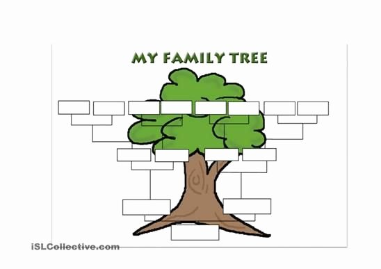 Make Your Own Family Tree Unique A Simple Template for Students to Create their Own Family