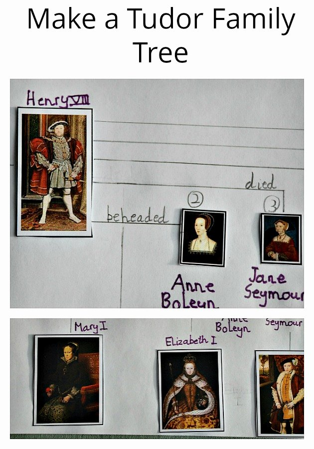 Make Your Own Family Tree Unique Creating A Tudor Family Tree