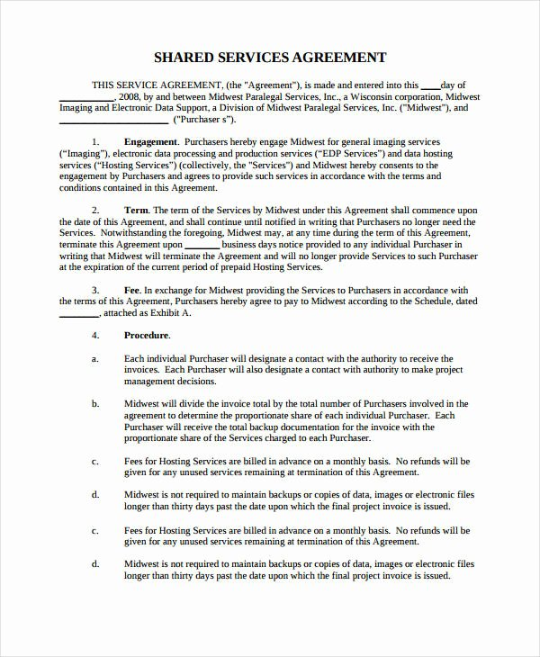 Master Service Agreement Template Lovely 21 Simple Service Agreements Word Pdf