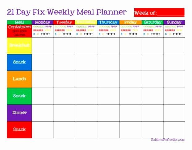 Meal Plan Template Word Fresh 5 Weekly Diet Plan Template Uieoe