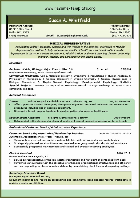 Medical assistant Resume Template Awesome Nursing Students Nursing and Student On Pinterest