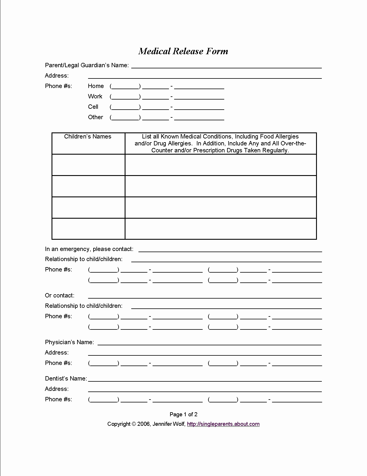 Medical Consent form Template Inspirational Medical Consent form when You Might Need E