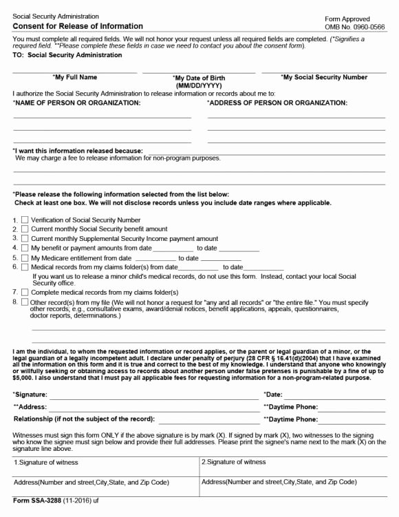 Medical Record Release form Best Of 40 Medical Records Release form Release Of Information