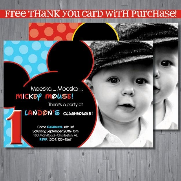 Mickey Mouse Birthday Invites Beautiful 25 Best Ideas About Birthday Invitation Templates On