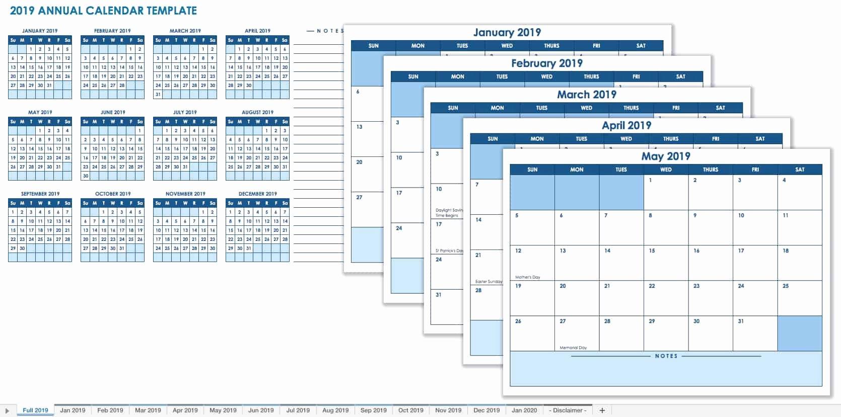 Microsoft Calendar Templates 2019 Luxury 15 Free Monthly Calendar Templates