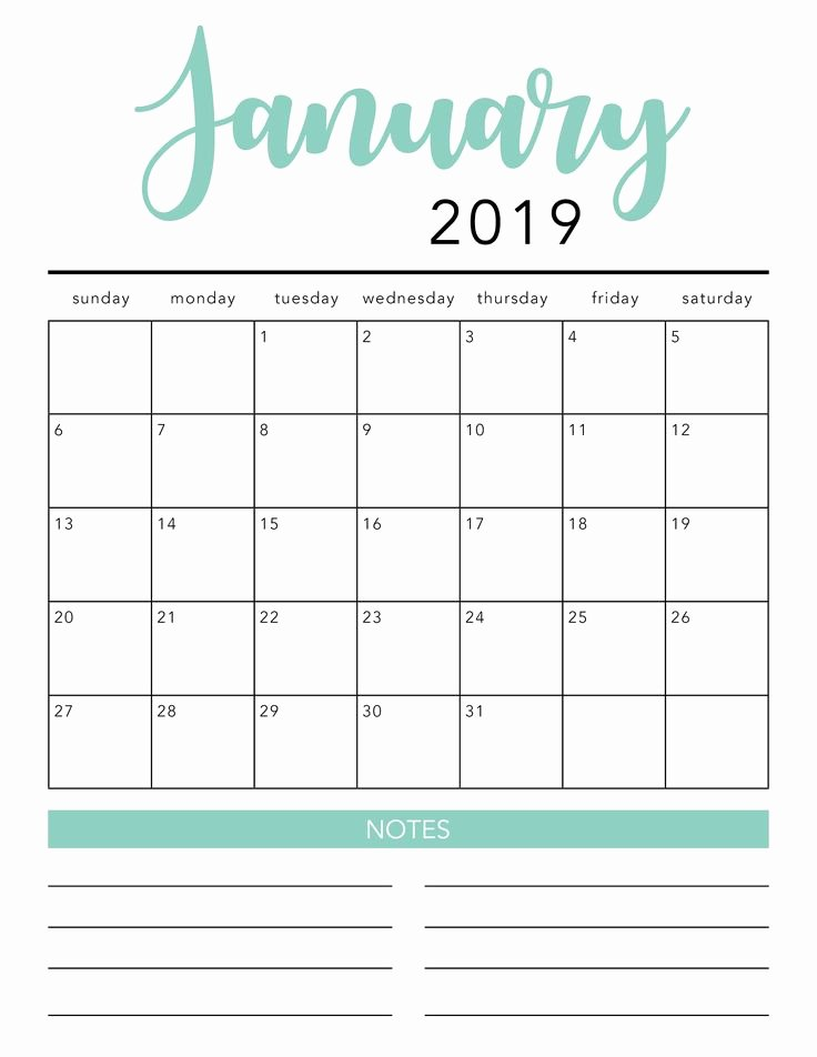 Microsoft Office Calendar Templates 2019 Awesome Free 2020 Printable Calendar Template 2 Colors I