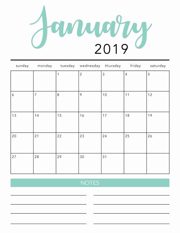 Microsoft Office Calendar Templates 2019 Awesome Free 2020 Printable Calendar Template 2 Colors I