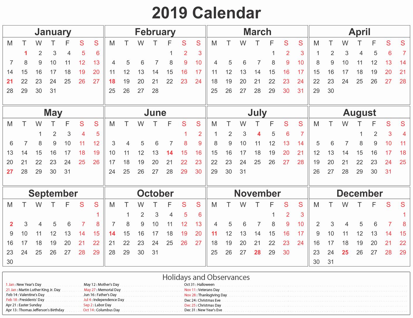 Microsoft Office Calendar Templates 2019 Fresh Printable Paper Sheets Calendar 2019 Fice Letter