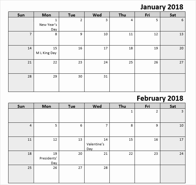 Microsoft Office Calendar Templates 2019 Inspirational the Best Free Microsoft Fice Calendar Templates for