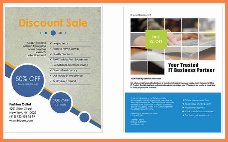 Microsoft Word Flyer Template Lovely Flyer Template Word Free – 73 Best Microsoft Word